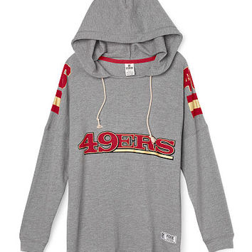 San Francisco 49ers Pullover Hoodie - PINK - Victoria's Secret