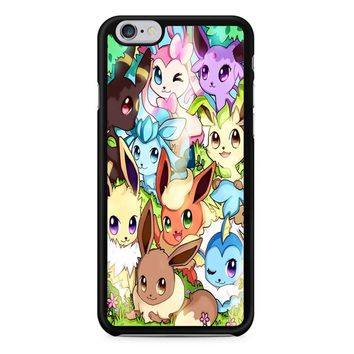 Eeveelution Eevee Vaporeon iPhone 6/6s Case