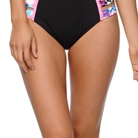 LA Hearts Strap Side High Waisted Bottom - Womens Swimwear - Multi
