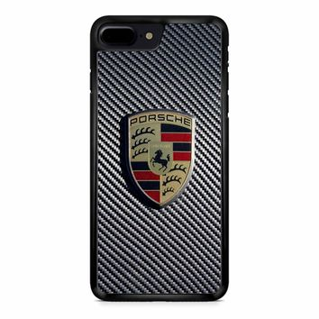 Carbon Porsche iPhone 8 Plus Case