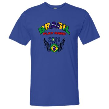 WORLD CUP brasil PLAY HARD 2014 tshirt