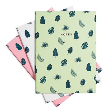 TROPICAL VIBES NOTEBOOK 3/SET