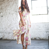 Linger Here Maxi Dress Multi Large