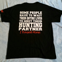 Hunting Dad Unisex Tshirt perfect gift for the Hunting Father Son Team, hunting Son