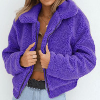 Relaxed Teddy Coat