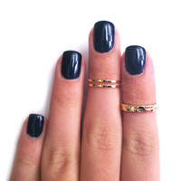 Z Combo Knuckle Rings
