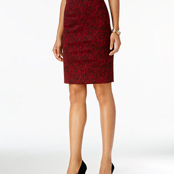 Olivia & Grace Printed Pencil Skirt | macys.com
