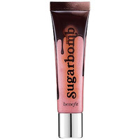 Benefit Cosmetics Sugarbomb Ultra Plush Shimmering Pinky Nude Lip Gloss 0.5 FL OZ