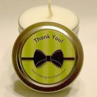 Custom Soy Travel Candle Favors For.. on Luulla