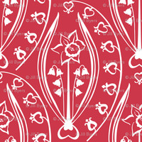 Love and Prosperity - jillbyers - Spoonflower