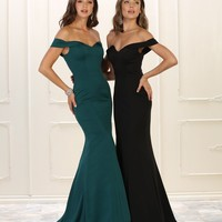 Sexy Long Prom Dress Evening Gown Formal Off Shoulder