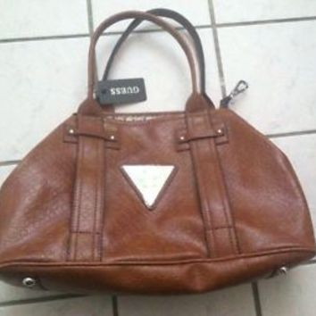 Authentic Guess Handbag,Color Cognac, Style FA309330.Never Used/Worn & No Defect
