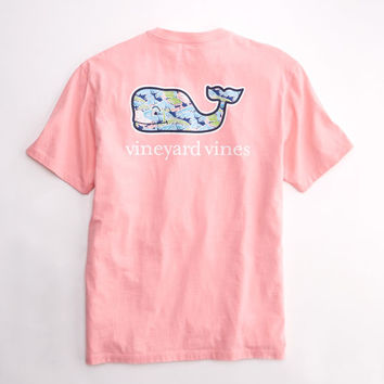 Beach Hut Pocket T-Shirt