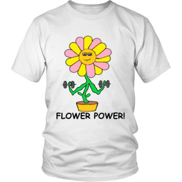Unisex Flower Power T-Shirt