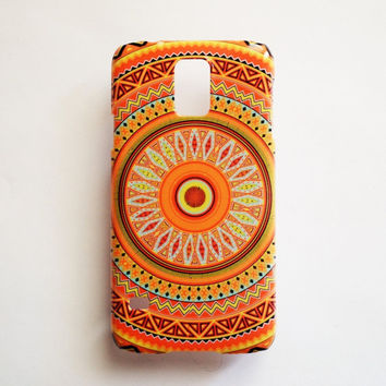 Samsung Galaxy S5 Geometric Pattern Case Hard Plastic Tribal Native Galaxy S5 Back Cover Cute Samsung S5 Cover