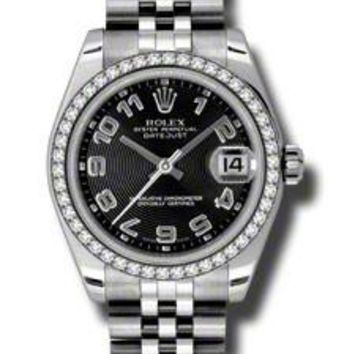 Rolex - Datejust 31mm - Steel Diamond Bezel