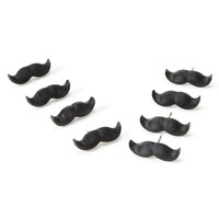Mustache Push Pin Set