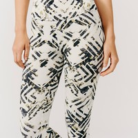 Free People Crystallized Floral Printed Legging