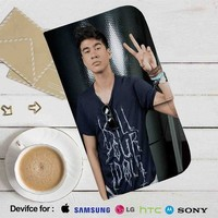 Calum Hood Leather Wallet iPhone 4/4S 5S/C 6/6S Plus 7| Samsung Galaxy S4 S5 S6 S7 NOTE 3 4 5| LG G2 G3 G4| MOTOROLA MOTO X X2 NEXUS 6| SONY Z3 Z4 MINI| HTC ONE X M7 M8 M9 CASE