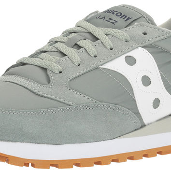 Saucony Originals Men's Jazz Original Sneaker Light Green/White 13 D(M) US '