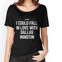 'I HEART DALLAS WINSTON' T-Shirt by rule30