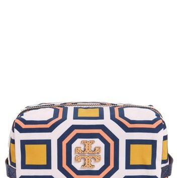Tory Burch Octagon Print Medium Cosmetics Case | Nordstrom