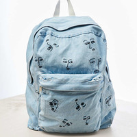 The Style Club Love Club Denim Backpack - Urban Outfitters