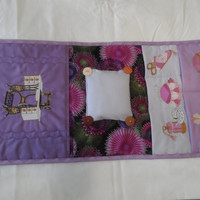 Sewing Caddy - Applique Sewing Caddy - Embroidery Sewing Caddy - Tapestry Sewing Caddy - Needlepoint Caddy - Medium Sewing Caddy