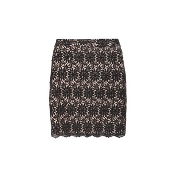 alice + olivia - lucia lace mini skirt