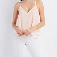 Layered Burnout Swing Tank Top