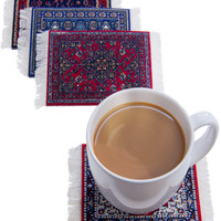 CoasterRugs Drink Coasters (set of 4)