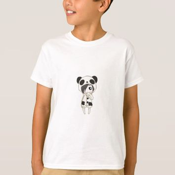Kawaii Panda Girl T-Shirt