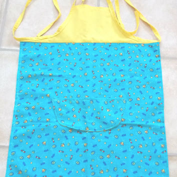 Child's apron,  Fish, Sea Creatures, Scooby Doo, Boy or Girl