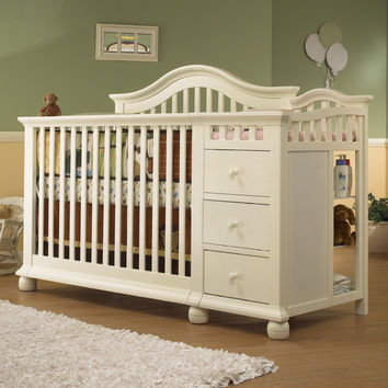 Sorelle Cape Cod Convertible Crib And From Nurzery Cribs