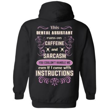Dental assistant - Limited Edition Pullover Hoodie 8 oz.