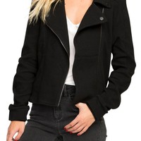 RVCA Reckoner Cotton Moto Jacket | Nordstrom