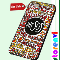 5sos 5 seconds of summer custom case for smartphone case