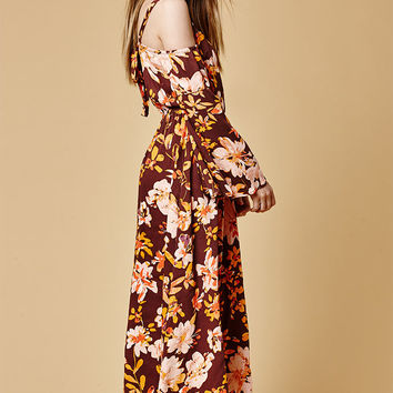 Somedays Lovin She's A Wildflower Maxi Dress at PacSun.com