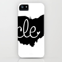 Love Cleveland iPhone Case by anastasia5
