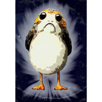 "Cosmic Porg Sticker (HUGE! 10"" x 14"")"