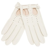 DSQUARED2 perforated gloves