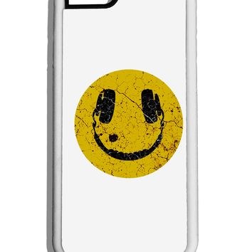 EDM Smiley Face White Dauphin iPhone 6 Cover by TooLoud