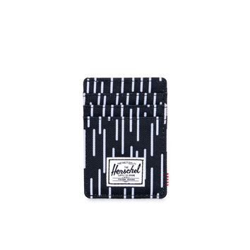 Raven Black and White Rain Camo Wallet by Herschel Supply Co.