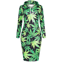 420 Field Hoodie Dress