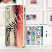 Giraffe iPhone Case, iPhone 5 Case, iPhone case,  iPhone 5 Cover, Hard iPhone 5 Case