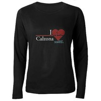 I Heart Calzona - Grey's Anatomy Women's Long Slee> ABC TV Store