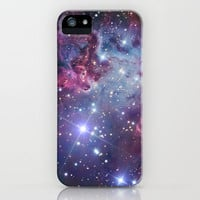 Nebula Galaxy iPhone & iPod Case by RexLambo