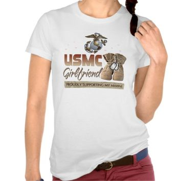USMC Girlfriend Supporting