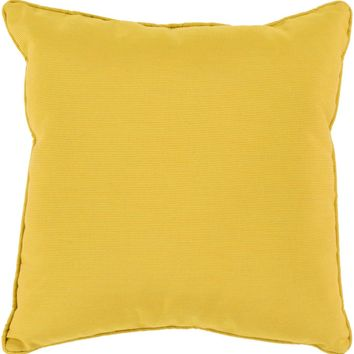 Piper Throw Pillow Yellow