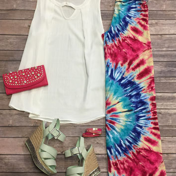 South Bound Top: White
